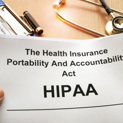 HIPAA Electronic Health Records Are Required
